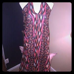 Boohoo cover up maxi dress